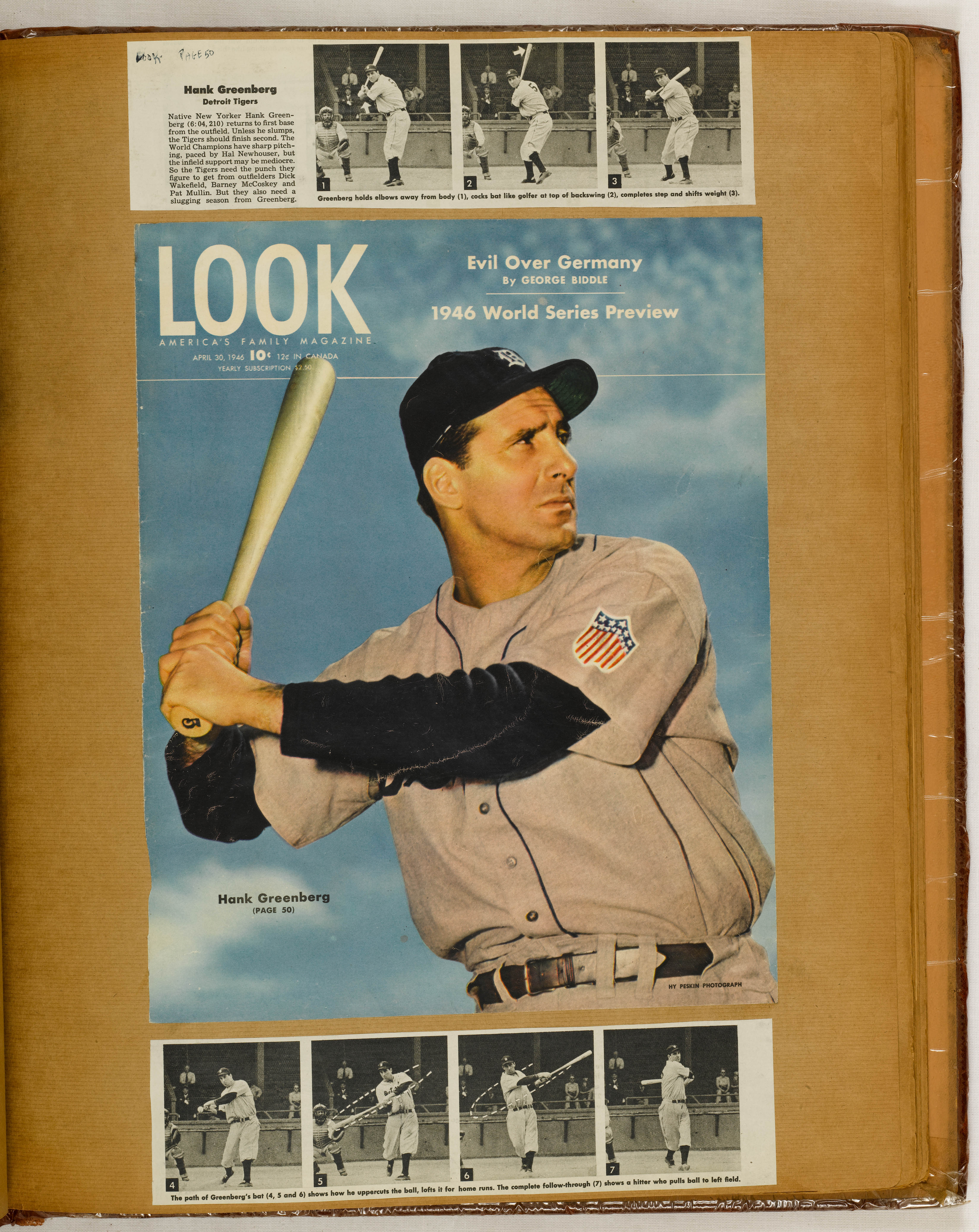 Hank Greenberg Scrapbook